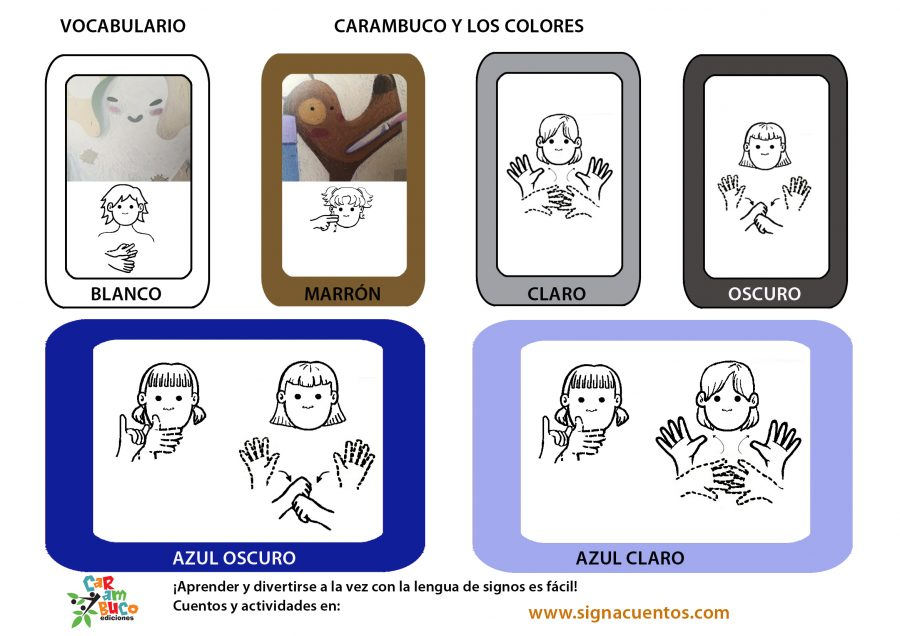 Vocabulario colores
