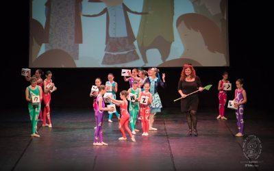 Saltarina, fusión de narración y danza
