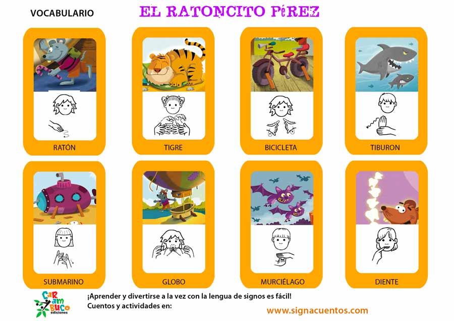 Vocabulario Ratoncito Pérez