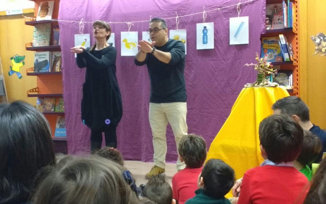 Éxito de los Carambuco cuentos en Madrid